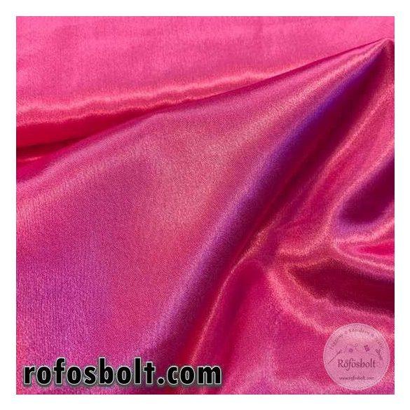 Pink sima szatén (ME2960)