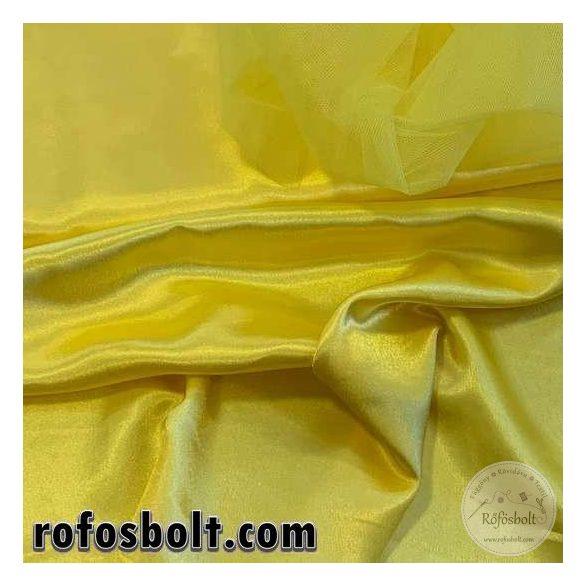 Citromsárga színű sima szatén (ME2964)