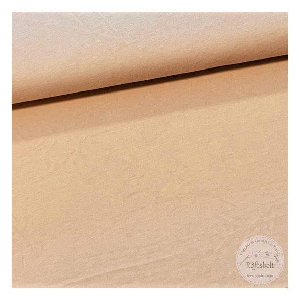 Mogyoró barna színű pamut jersey(ME3254)