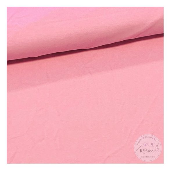 H. rózsaszín pamut jersey(ME3255)