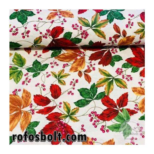Őszi faleveles dekortextil (ME3311)