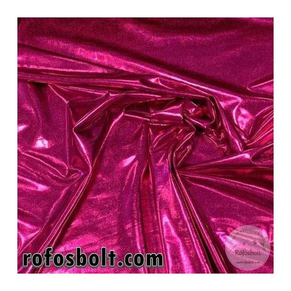 Pink fényes elasztikus lamé (ME3334)