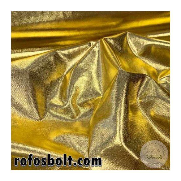 Arany fényes elasztikus lamé (ME3337)