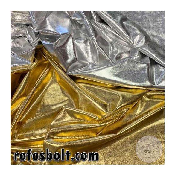 Ezüst fényes elasztikus lamé (ME3338)