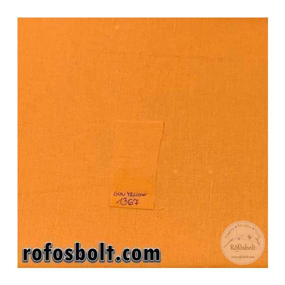 Sun yellow (napsárga) egyszínű pamutvászon 1367 (ME3348)