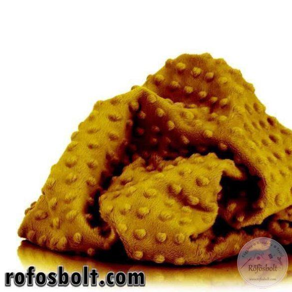 Premium Minky retró szín kollekció: Chai Tea (mustár sárga) (ME3411)