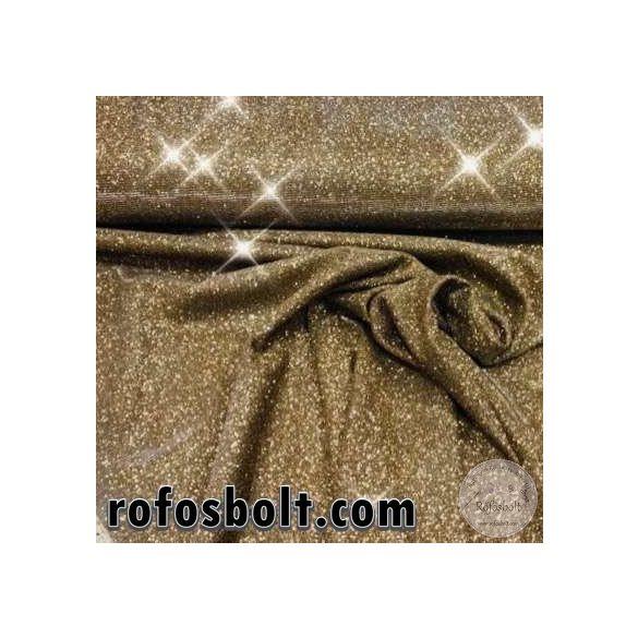 Lurex: Arany (100% PE, elasztikus) rosé arany beütéssel (ME3483)