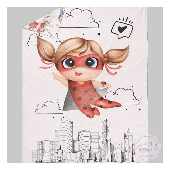 Superhero Girl: Katica takaró panel 100*135 cm-es (ME3577)