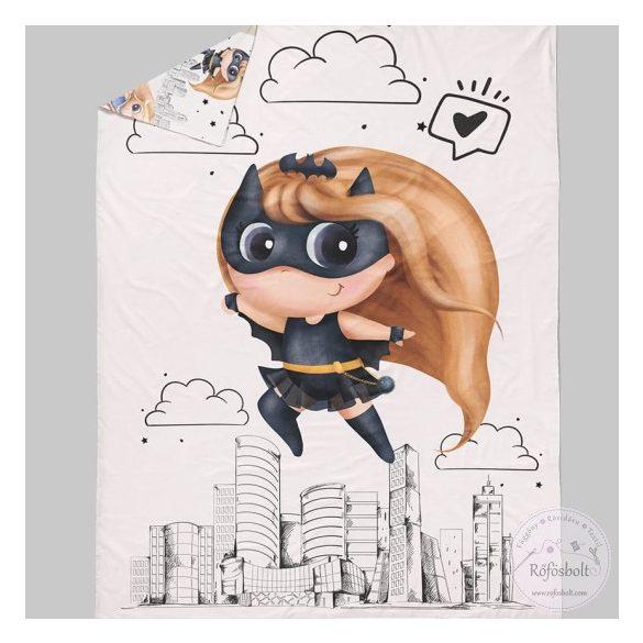 Superhero Girl: Bat-girl takaró panel 100*135 cm-es (ME3578)