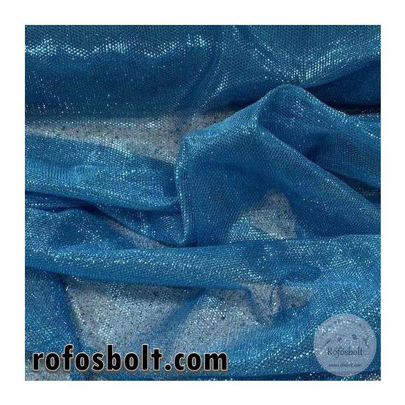 Kék csillogós szálas dekorháló (ME3663)
