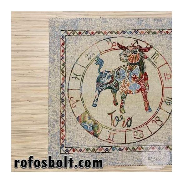 Horoszkópos textil panel 47*47 cm: Toro (Bika 04.21.-05.20.) ME3692