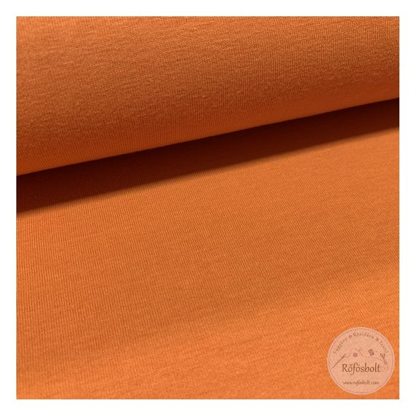 Tök narancssárga pamut jersey (ME3755)