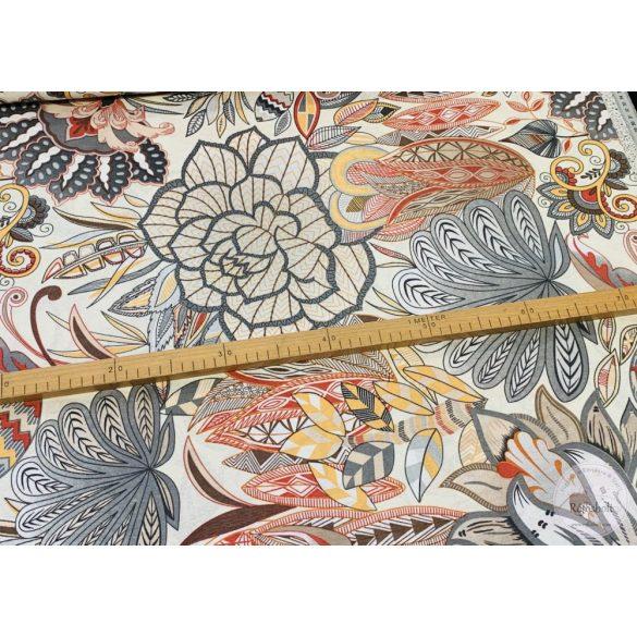 Virágok a 80-as évekből dekortextil (ME3840)