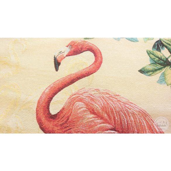 Karibi flamingós panel 47×47 cm-es (ME3958)