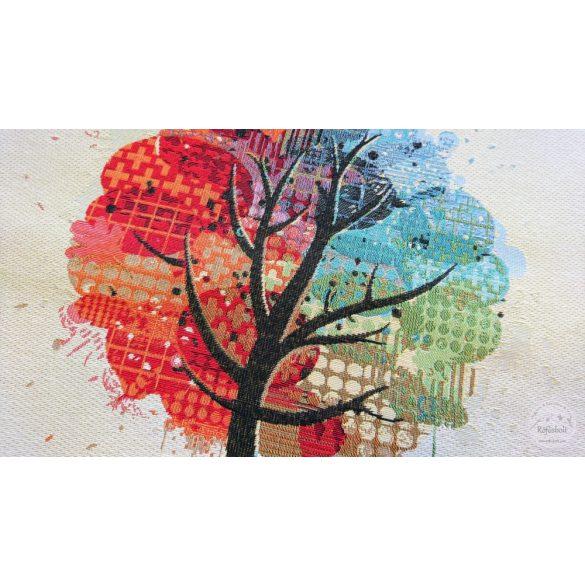 Négy évszak színes fa panel 47×47 cm-es (ME3959)