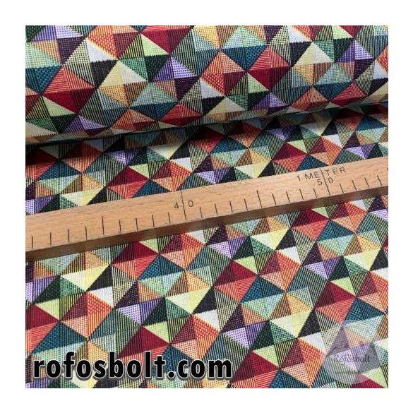 Színes (2cm-es) négyzetes pamutvászon (ME4069)