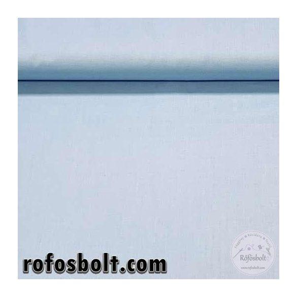 Égszínkék egyszínű pamutvászon (LT BLUE 1305) (ME4092)
