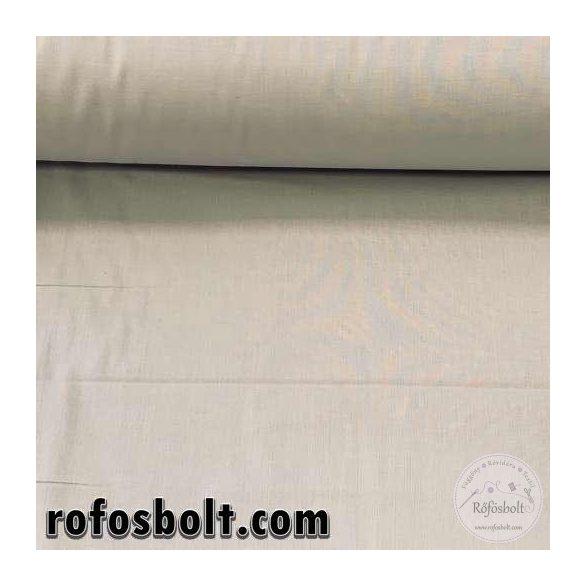 Világos szürke egyszínű pamutvászon (LT GREY 144105) (ME4094)