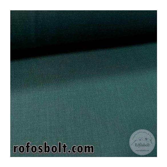 Sötétzöld egyszínű pamutvászon (GLME4230)