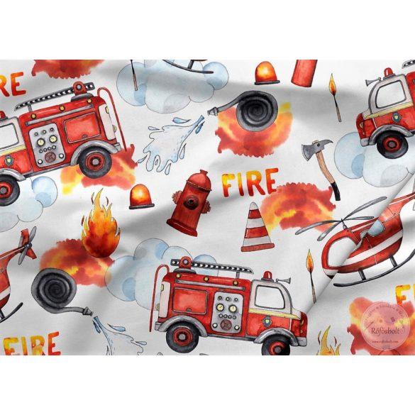 Tűzoltós elasztikus futter (ME4237)