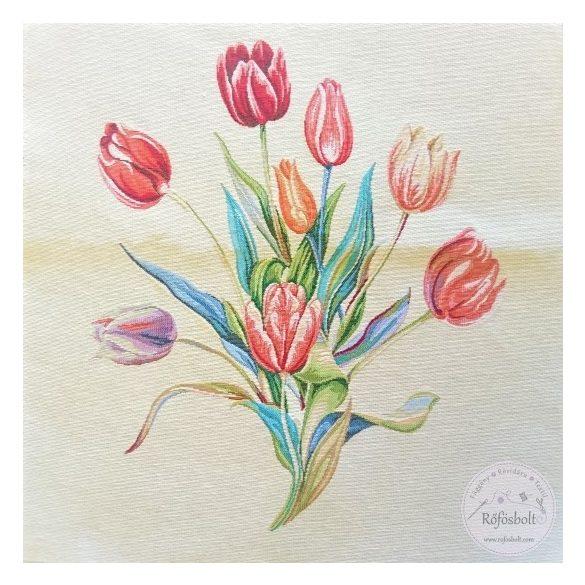 Tulipános panel 47×47 cm-es (ME4298)