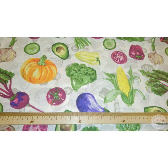 Egészséges zöldségek pamutvászon (ME4375)