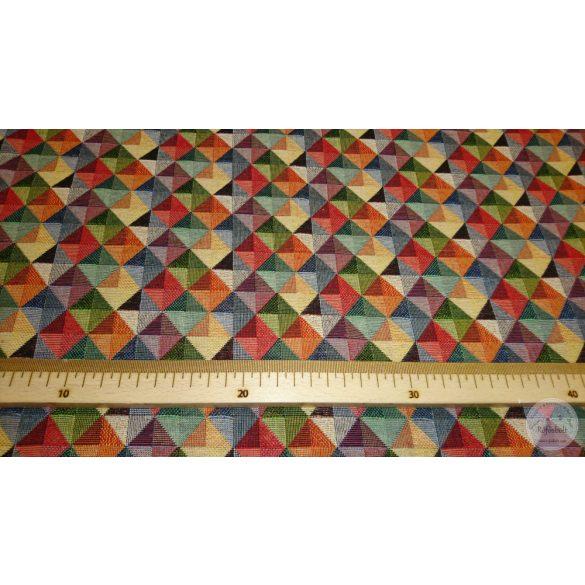 Színes négyzetes vastagabb vászon  (ME4384)