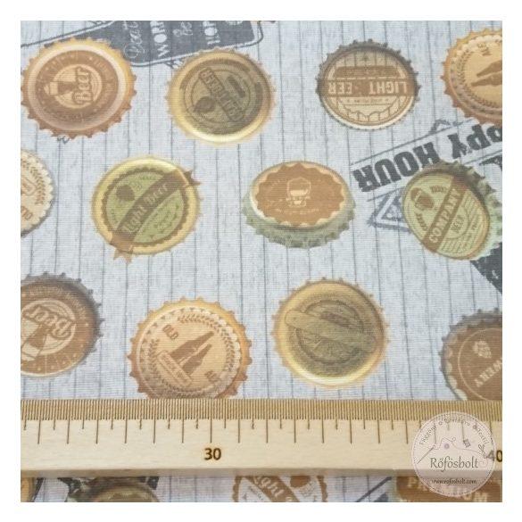 Sörösüveg kupakok dekortextil (ME4416)
