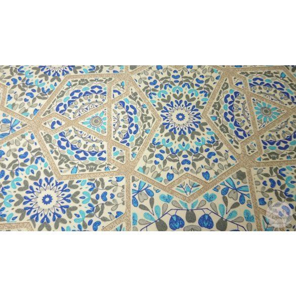 Marokkói csempe szürke, kék árnyalatokban dekortextil (ME4478)