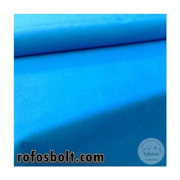 Pamutvászon: cián kék egyszínű 1314 (ME533)