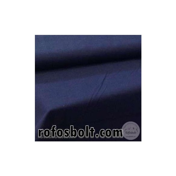 Pamutvászon: sötét kék egyszínű 19-4024 (ME535)