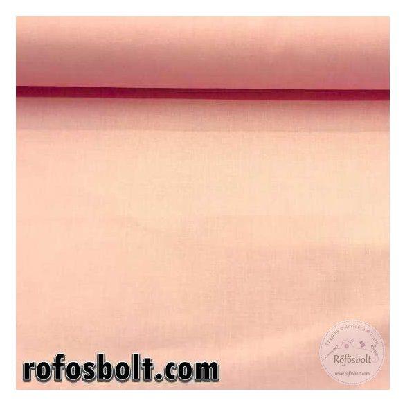 Pamutvászon: halvány rózsaszín egyszínű (ME538-1340)
