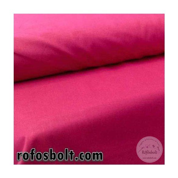 Pamutvászon: magenta rózsaszín egyszínű 1346 (ME539)