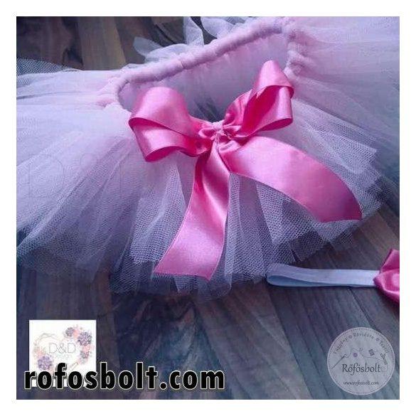 Halvány rózsaszín tüll (ME662)