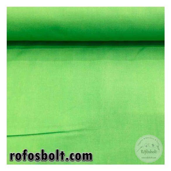 Hospital green zöld egyszínű pamutvászon (ME786)