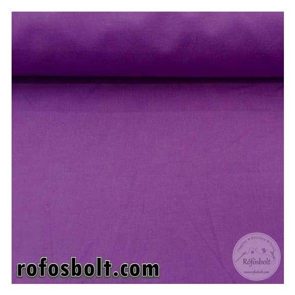 Sötét lila egyszínű pamutvászon 1331 (ME787)