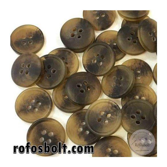 Melíros barna öltönygomb (3)