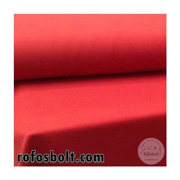 Könnyű esésű árnyékoló: piros panama