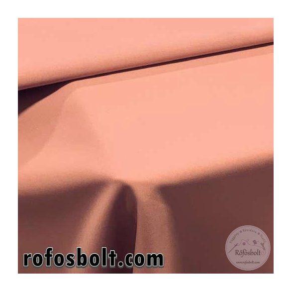 Könnyű esésű árnyékoló: púder színű panama