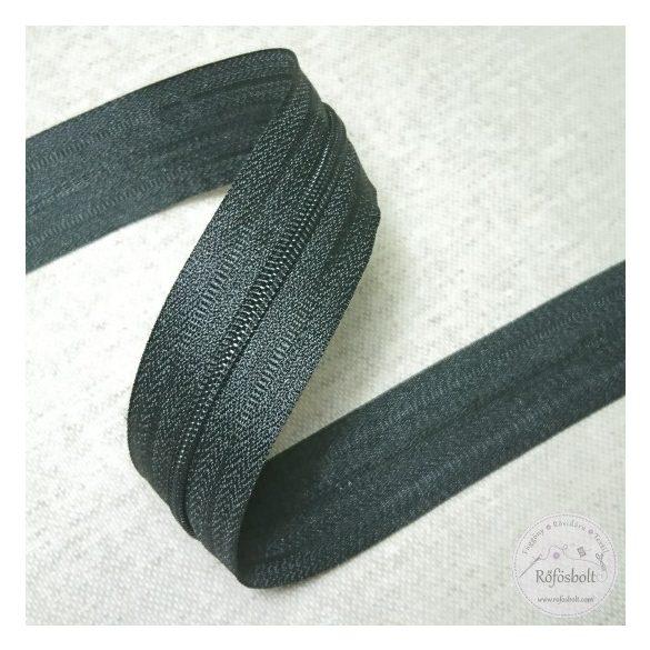 Fekete méteres ágynemű cipzár