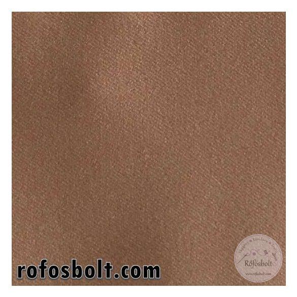 Egyszínű GLO Blackout függöny anyag: toffifee (#7)