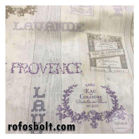 Levendulás lakástextil (TwisterProvanceB50)
