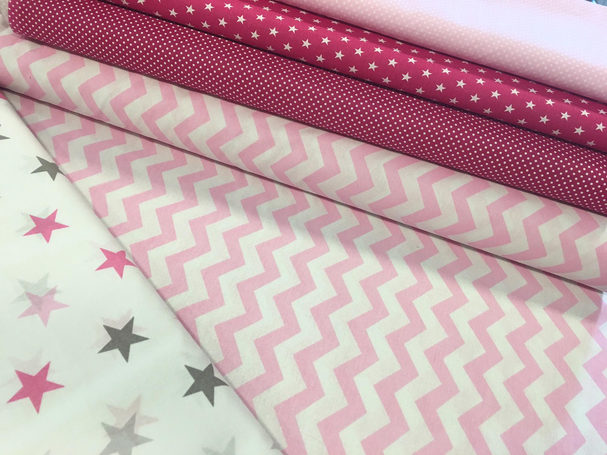 design textil chevron mintás pamutvászon