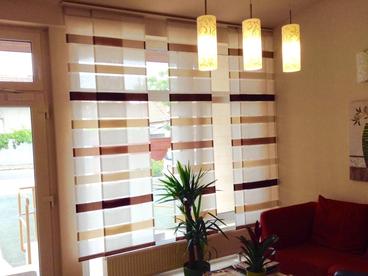 panelfüggöny, modern függöny